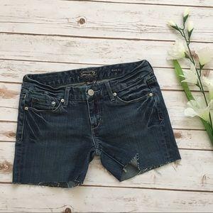 Seven7 Shorts - [Seven7] Cut Off Denim Shorts
